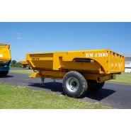 Bm 4300 - bennes tp - rolland - charge utile approximative : 7000 kg