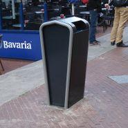 Falcojona 100 litre - poubelle publique - falco - bac intérieur robuste
