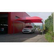 Abri pour station de lavage C1+ - Carapax - Dimension 5.50 x 4.00 m