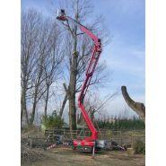 Lightlift 23.12 iiis - nacelle araignée - hinowa s.p.a. - capacité nacelle chenillée 120kg à 200kg