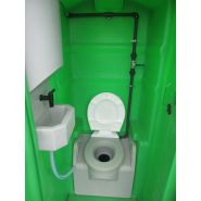 Cabine wc raccordable a l'anglaise -  minicabi