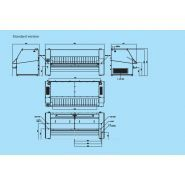 I80-320 - repasseuses industrielle - primus - 800 mm