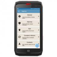 Application android pour la protection des travailleurs isolés | smart-dati