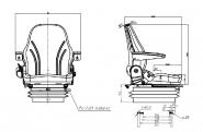 Siege tracteur lgv90/c2 pro