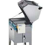 Fontaine de lavage fermée avec gants - capacité lavage :950x700x450 mm