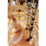 Escalier hélicoïdal eh.01 - rem53 - diamètre 2150 mm - fût 219 mm