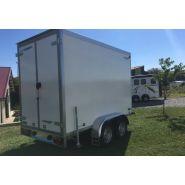 Wm meyer double essieux - remorque frigorifique - carrosserie cavalcar - poids à vide 790 kg