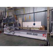 DUO-550 - Tronçonneuse à double tête - Tronzadoras MG - Longueur de coupe programmable maximum 9500 mm