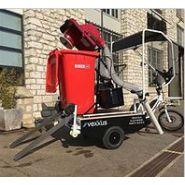 Vélo cargo - aspirateur de voirie