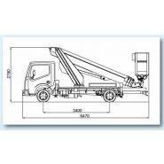 Mt202ds camion nacelle - multitel -  20,20 m