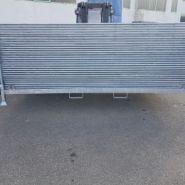 Racks de stockage grillages - cbs btp - grillagée horizontale
