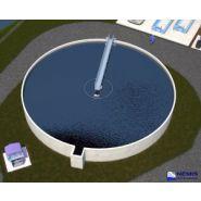 OMEGA - Racleurs de bassins de décantation - Emo - Peut être utilisé sur des bassins de 6 à 35 m de diamètre