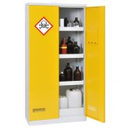 Armoire à produits dangereux - pour multiples produits - rétention : 122 l