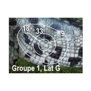 Wf 80p - cible de tir à l'arc - natur'foam - h: 160 cm