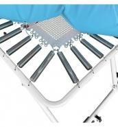 685 - mini trampoline a ressorts eps toile tressee