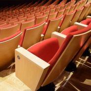 Meudon bi - fauteuil salle de conférence - quinette gallay - encombrement : 60 cm assise relevée