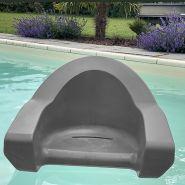 Fauteuil flottant archimede gris clair pour piscine et mer
