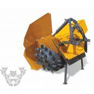 Cureuses de fossés et rigoleuses biroue spéciales - dondi - vitesse d'avancement jusqu'à 1.2 km/h