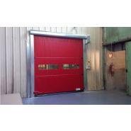 Porte rapide enroulement / souple / à enroulement / en plastique / utilisation intérieure et extérieure / 5000 x 6000 mm