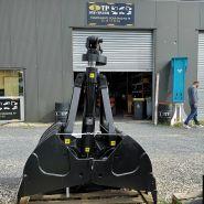 Benne preneuse de terrassement porteurs 2 à 13 tonnes