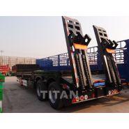 Semi-remorque porte conteneur 45 tonnes