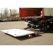 Uasx 1008 - hayon élévateur - sörensen - rétractable, capacité 1000 kg