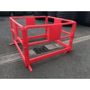 Barriere de chantier rouge