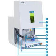 Xeno 1 - marquages laser - cab - puissance 20 ou 30 w