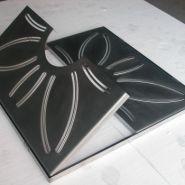 Grilles d'arbres - France inox - Dimensions 1000x1000 ou 1500x1500 mm