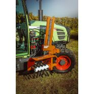 Rp w 1 - épampreuse mécanique - braun maschinenbau - hauteur de travail 350 mm
