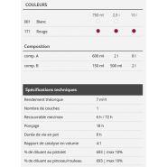 Delta 3000 - primaire époxy universel - boero yachtcoatings - rendement théorique : 7 m²/l