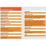 M - débitmètres massiques - system c instrumentation - gamme de débit 0 à 5000 nl/min