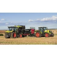 Chargeur frontal - claas - les chargeurs frontaux claas répondent à tous les besoins et permettent aux tracteurs de 45 à 300 ch de gagner en polyvalence