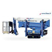 Bluelift sa22 - nacelle araignée - all-road - hauteur de travail 22 m