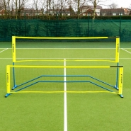 Vermont procourt lot de filet et raquettes de mini tennis & badminton