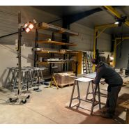 Potence infrarouge court - chauffage industriel
