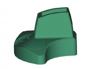 Barrière de piscine aluminium macassar - profils