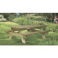 Table pique-nique en bois