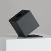 Boîte de mouchoirs de luxe carrée - noir sku: f-794-04