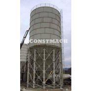 Cs-2000 - silo à ciment boulonné - constmach - capacité de 2000 tonnes