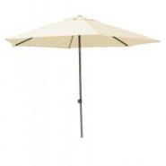 Parasol biarritz nature 300 cm alu - alex stores et parasols
