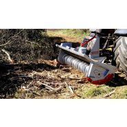 Tfvj - indo broyeur forestier - ventura forestry machines - 40 à 130 cv