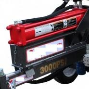 Fendeuse tractable 30t thermique 600mm horizontale et verticale avec carter de protection - c1212249