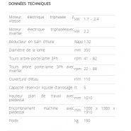 350 super technics - tronçonneuse à fraise-scie manuelle - sthemma s.r.l. - diamètre de la lame 350 mm