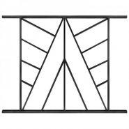 Voile - grille de défense - lahfer - traverses en tube de 20