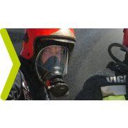 Appareil respiratoire isolant pour pompier - spasciani - equipé du système ais technology (3min en plus)