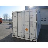 Container maritime 20 pieds frigorifique / reefer / isotherme / chambre froide