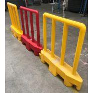 Barriere de securite  amovible rouge