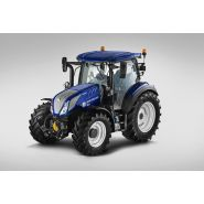 T5.120 auto command tracteur agricole - new holland - puissance maxi 88/120 kw/ch