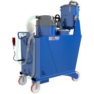 Aspirateur huile et copeau 450 / 65 l.triphase oilvac 450  4 k w.